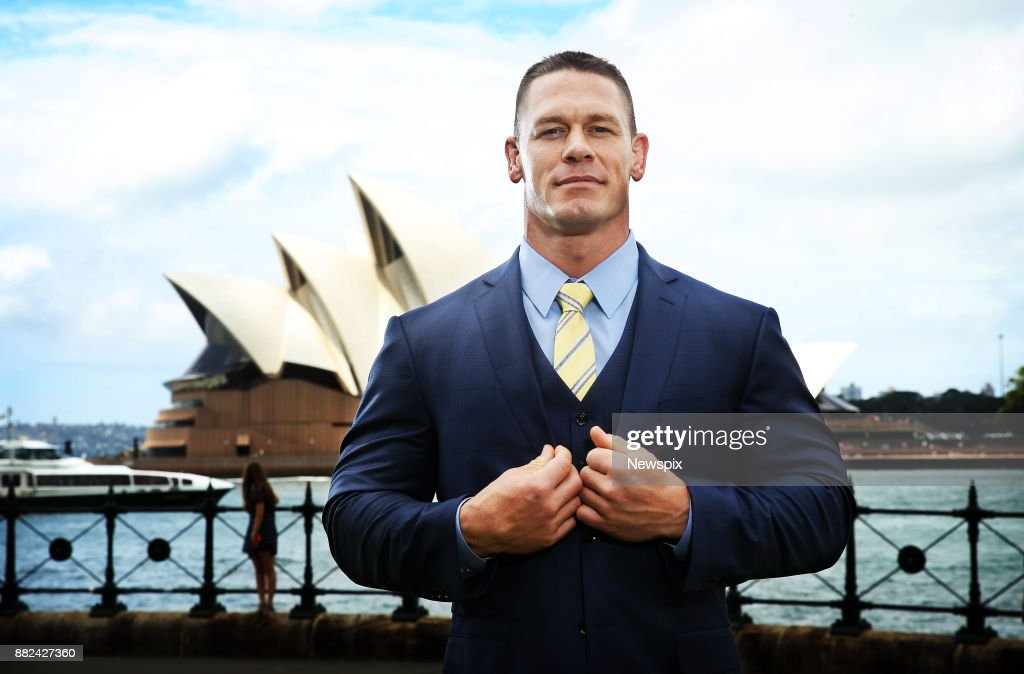 John Cena Sydney Portrait Shoot