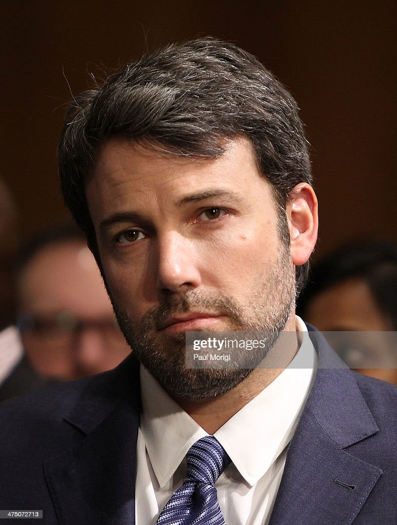 Actor and founder of the Eastern Congo Initiative Ben Affleck attends the US Senate Hearing On The Democratic Republic Of Congo at Dirksen Senate Office Building on February 26, 2014 in Washington, DC. The committee was hearing testimony on prospects for peace in the Democratic Republic of Congo and Great Lakes Region.