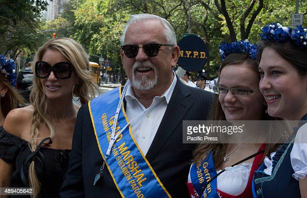 Actor and Grand Marshel John Ratzenberger along with his wife Julie Blichfeldt participated today on the 58th GermanAmerican Steuben Parade in New...