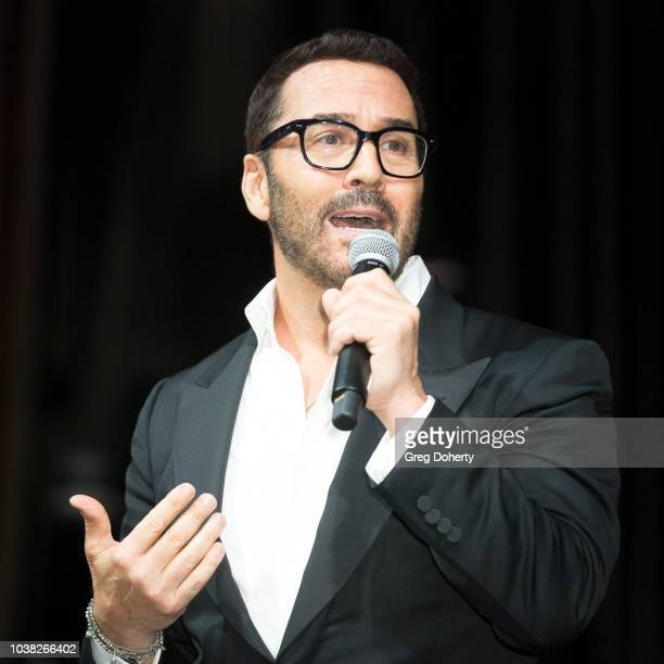 "Actor and host Jeremy Piven attends the Face Forward's 10th Annual ""La Dolce Vita"" Themed Gala at the Beverly Wilshire Four Seasons Hotel on..."