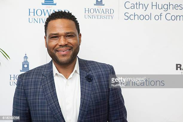 Actor and Howard University Alumnus Anthony Anderson In the Blackburn Center Ballroom on the campus of Howard University in Washington DC USA on 25...