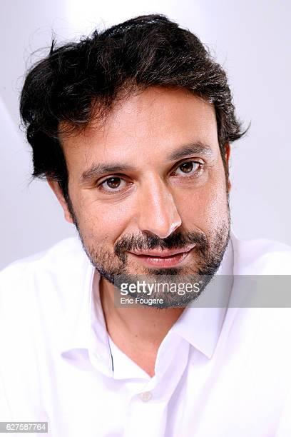 Actor and Humorist Bruno Salomone Photographed in PARIS