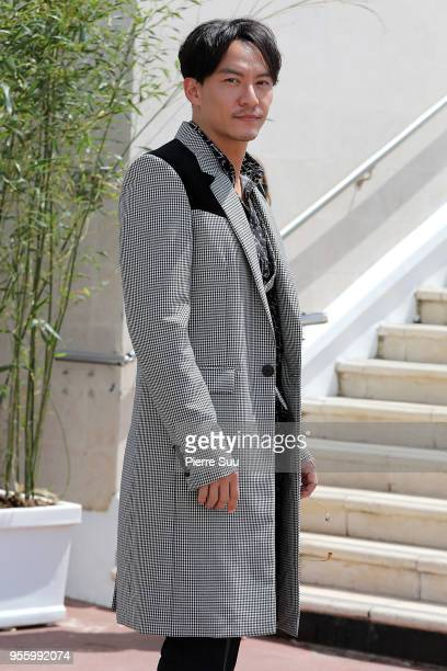 Actor and Jury member Chang Chen arrives at the jury photocall during the 71st annual Cannes Film Festival on May 8 2018 in Cannes France