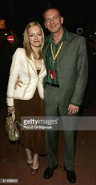 Actor and Jury member Hugo Speer and his girlfriend attend the opening ceremony of the 15th Dinard Festival Of British Film October 7 2004 in Dinard...