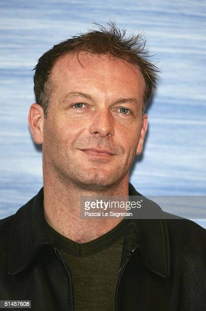 Actor and Jury member, Hugo Speer attends a photocall on the third day of the 15th Dinard Festival Of British Film on October 9, 2004 in Dinard,...