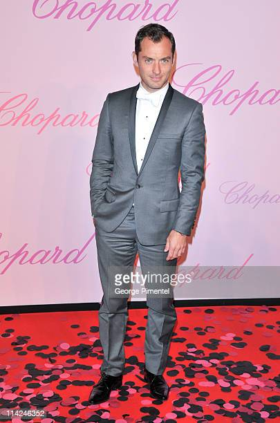"""Actor and jury member Jude Law attends the Chopard """"Happy Diamonds Are A Girl's Best Friend"""" Party during the 64th Annual Cannes Film Festival at the..."""