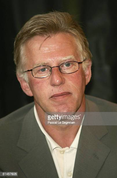 Actor and Jury member, Kieran O'Brien attends a photocall on the third day of the 15th Dinard Festival Of British Film on October 9, 2004 in Dinard,...