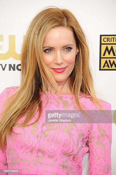 Actor and Leslie Mann attends the 18th Annual Critics' Choice Awards held at Barker Hangar on January 10 2013 in Santa Monica California