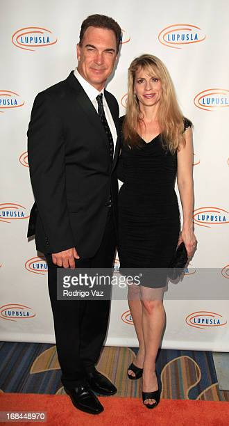 Actor and Loop Award presenter Patrick Warburton and his wife Cathy Jennings arrive at the 13th Annual Lupus LA Orange Ball at the Beverly Wilshire...