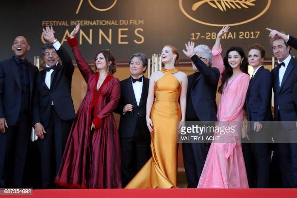 US actor and member of the Feature Film jury Will Smith French music composer and member of the Feature Film jury Gabriel Yared French actress and...