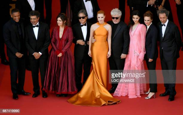 Actor and member of the Feature Film jury Will Smith, French music composer and member of the Feature Film jury Gabriel Yared, French actress and...