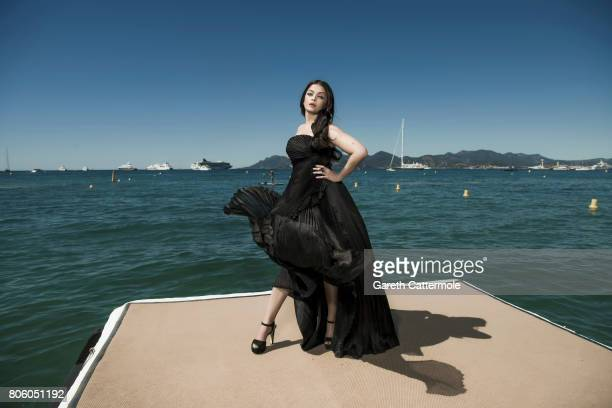 Actor and model Aishwarya Rai is photographed in Cannes France on May 20 2017