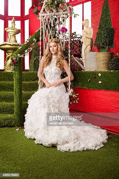 Actor and model Amy Willerton is photographed on February 18 2014 in London England
