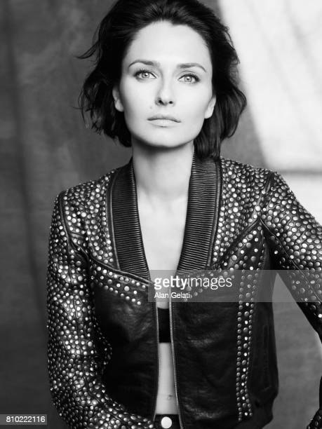 Actor and model Anna Safroncik is photographed for Vanity Fair on March 8 2017 in Milan Italy