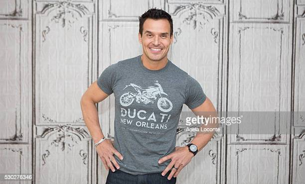 Actor and Model Antonio Sabato Jr attends his time with The Revue and his limited engagement with Chippendales at the Rio at AOL Studios In New York...