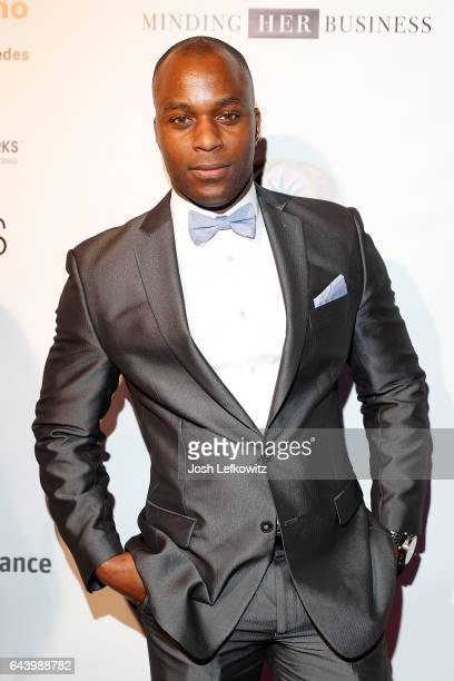 Actor and Model D'Andre Lampkin attends the 2017 Entrepreneur Awards at Allure Events And Catering on February 22 2017 in Van Nuys California