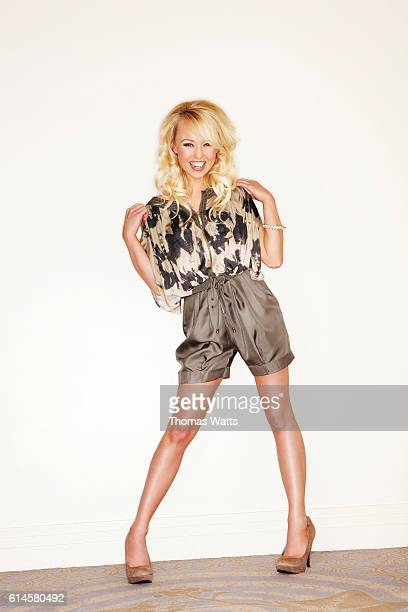 Actor and model Jorgie Porter is photographed for Cosmopolitan magazine on February 11 2010 in London England