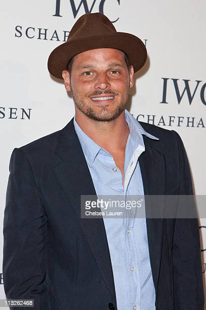 Actor and model Justin Chambers arrives at Peter Lindbergh's Portofino at Culver Studios on April 28 2011 in Culver City California