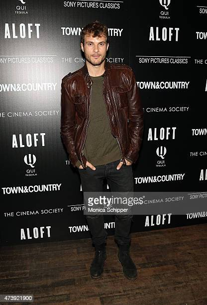 Actor and model Ryan Cooper attends The Cinema Society with Town Country host a special screening of Sony Pictures Classics' Aloft at Tribeca Grand...