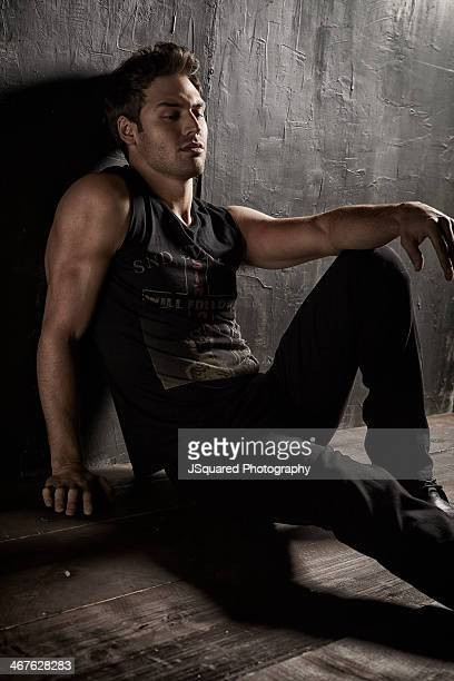 Actor and model Ryan Guzman is photographed for Self Assignment on August 1 2013 in Los Angeles California