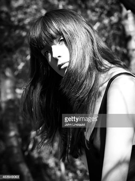Actor and model Stacy Martin is photographed on August 8 2009 in London England