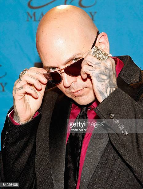 Actor and music artist Evan Seinfeld arrives at the 26th annual Adult Video News Awards Show at the Mandalay Bay Events Center January 10, 2009 in...