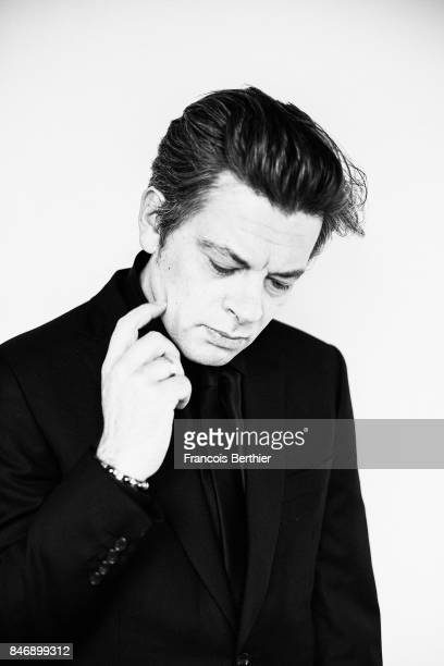 Actor and musician Benjamin Biolay is photographed on September 9 2017 in Deauville France