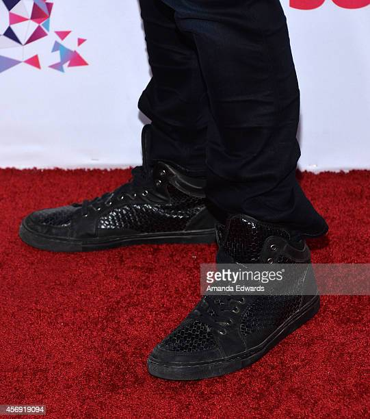 Actor and musician Blake Michael attends the Vevo CERTIFIED SuperFanFest presented by Honda Stage at Barkar Hangar on October 8 2014 in Santa Monica...