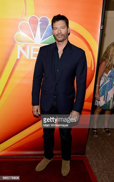 Actor and musician Harry Connick Jr attends the NBCUniversal press day during the 2016 Summer TCA Tour at The Beverly Hilton Hotel on August 2 2016...