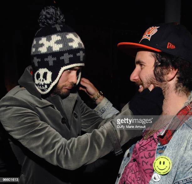 Actor and Musician Jared Leto and Mark Hunter aka the Cobra Snake attend Erin Wasson RVCA Fall 2010 during MercedesBenz Fashion Week at ABC Carpet on...