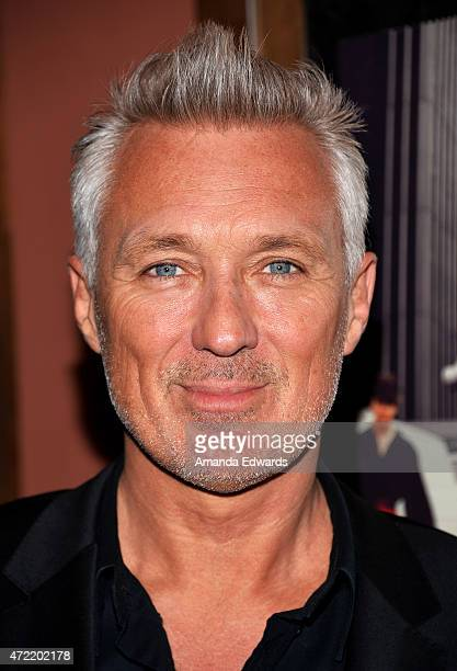 Actor and musician Martin Kemp attends the premiere of Soul Boys Of The Western World Spandau Ballet at the Sundance Cinema on May 4 2015 in Los...