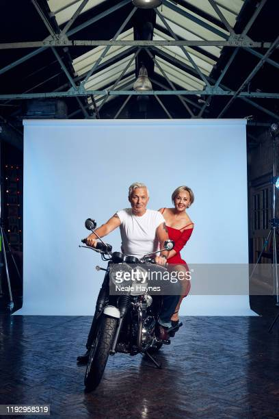 Actor and musician Martin Kemp is photographed with his wife Shirley Kemp for the Daily Mail on September 24 2019 in London England