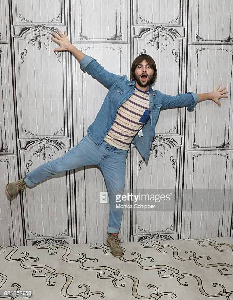 Actor and musician Robert Schwartzman attends The Build Series Presents Robert Schwartzman Discussing The New Film Dreamland at AOL HQ on November 7...