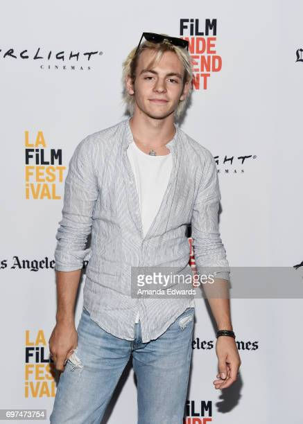 Actor and musician Ross Lynch attends the 2017 Los Angeles Film Festival 'My Friend Dahmer' premiere at the ArcLight Santa Monica on June 18 2017 in...