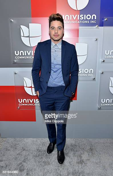 Actor and musician William Valdes attends Univision's 2016 Upfront Red Carpet at Gotham Hall on May 17 2016 in New York City