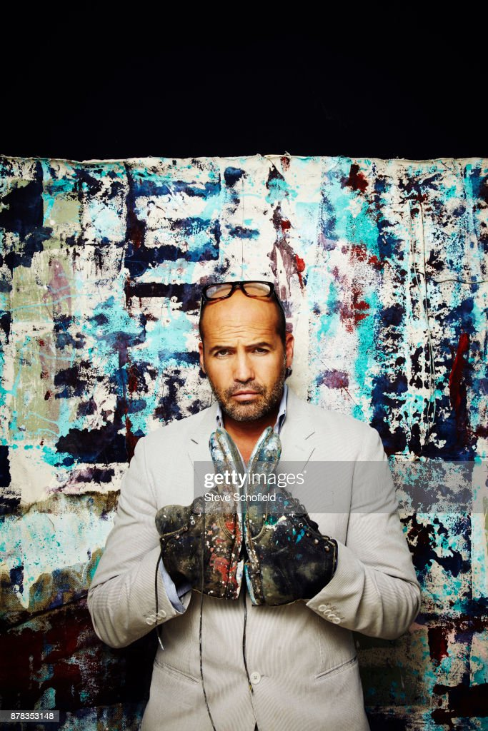 Actor and painter Billy Zane is photographed for Fabric magazine on August 21, 2013 in Los Angeles, California.