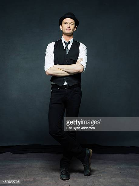 Actor and performer Neil Patrick Harris is photographed for The Hollywood Reporter on May 23 2014 in New York City