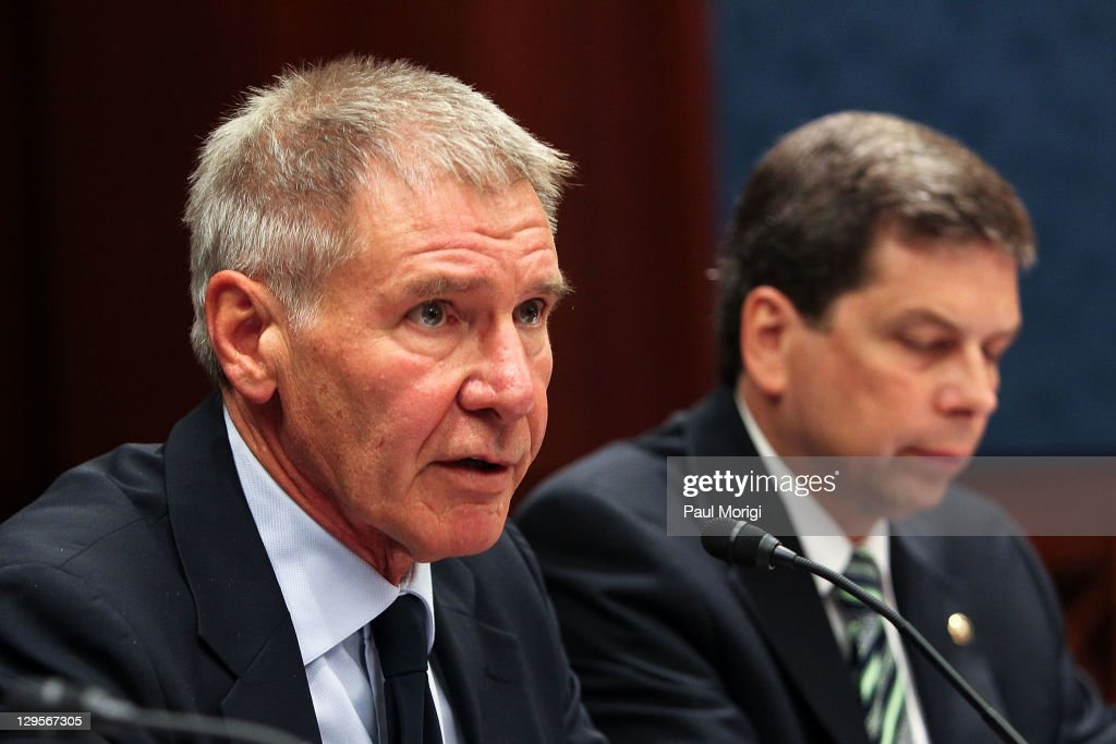 Harrison Ford Attends The Senate General Aviation Caucus Meeting