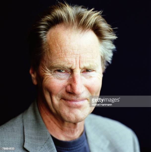 Actor and playwright Sam Shepherd poses for a portrait shoot for Optimum magazine in Cannes on May 22 2005