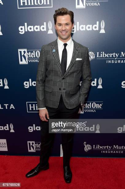Actor and presenter Andrew Rannells attends 28th Annual GLAAD Media Awards at The Hilton Midtown on May 6 2017 in New York City