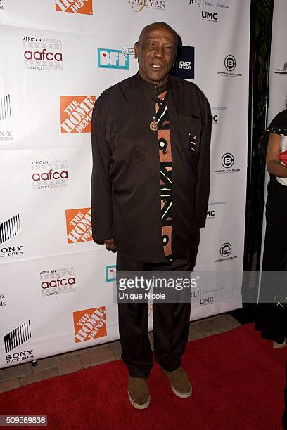 Actor and presenter Lou Gossett Jr.arrives at the 7th Annual AAFCA Awards on February 10, 2016 in Los Angeles, California.