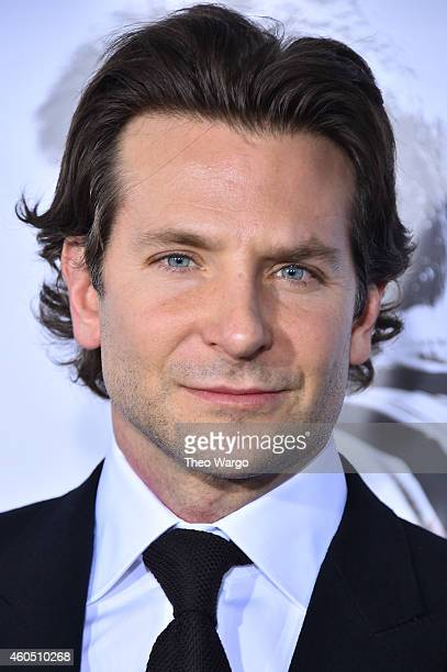 Actor and Producer Bradley Cooper arrives at the 'American Sniper' New York Premiere at Frederick P Rose Hall Jazz at Lincoln Center on December 15...