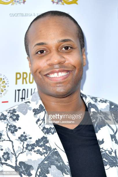 Actor and producer Dorell Anthony attends Bella New York magazine's beauty cover launch at La Pulperia Restaurant on May 29 2018 in New York City