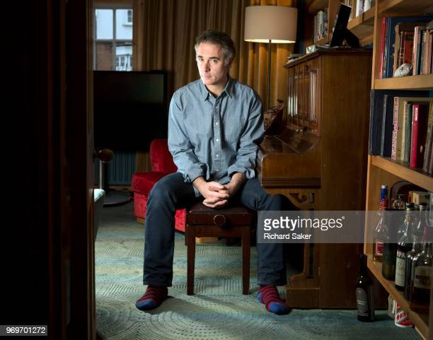 Actor and producer Greg Wise is photographed for the Observer on January 23 2018 in London England