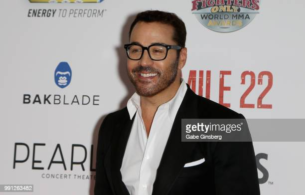 Actor and producer Jeremy Piven attends the 10th annual Fighters Only World Mixed Martial Arts Awards at Palms Casino Resort on July 3 2018 in Las...
