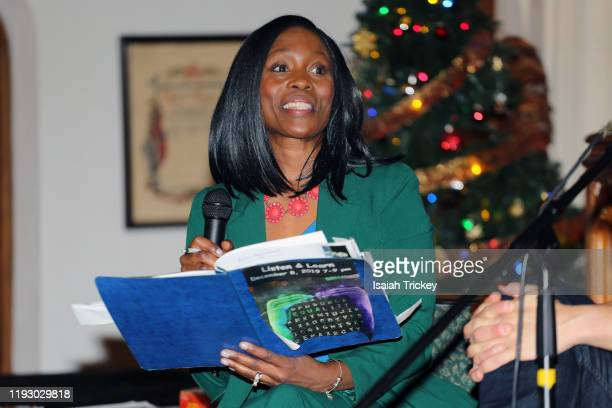 Actor and Producer Lanette WareBushfield hosts Listen and Learn at Kingston Road United Church on December 8 2019 in Toronto Canada