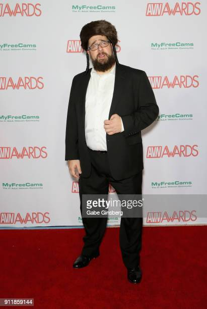 Actor and production manager Matt Slayer attends the 2018 Adult Video News Awards at the Hard Rock Hotel Casino on January 27 2018 in Las Vegas Nevada