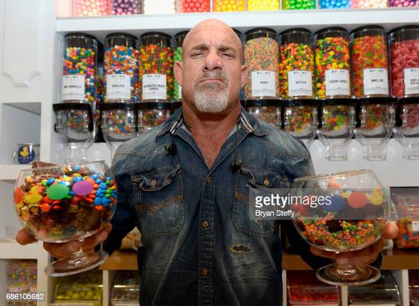 Actor and professional wrestler Bill Goldberg attends a meet and greet at Sugar Factory American Brasserie at the Fashion Show mall on May 20 2017 in...
