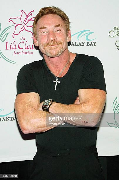 Actor and radio personality Danny Bonaduce arrives at a Lili Claire Foundation fundraiser at the Mandalay Bay Events Center April 28 2007 in Las...