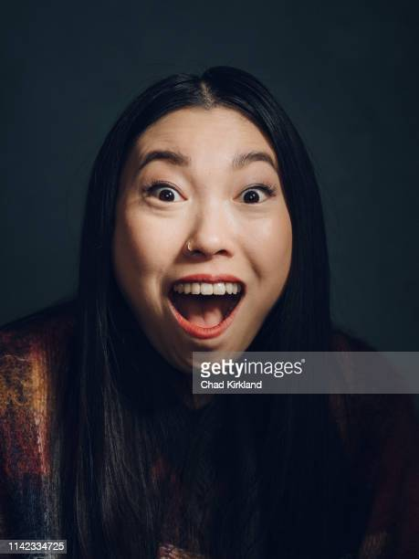 Actor and rapper Awkwafina aka Nora Lum is photographed for Deadline on January 25 2019 in Park City United States